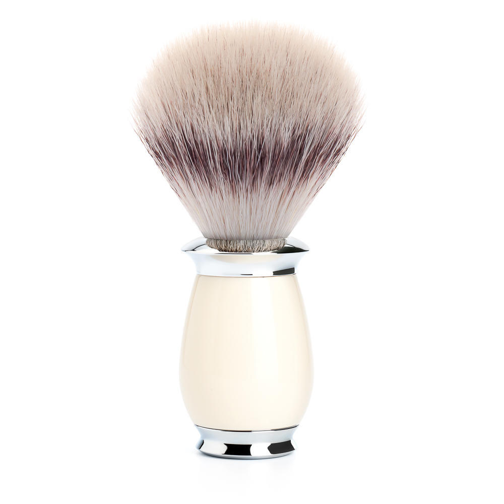 MUHLE PURIST Ivory Resin Silvertip Fibre Shaving Brush - 31K57