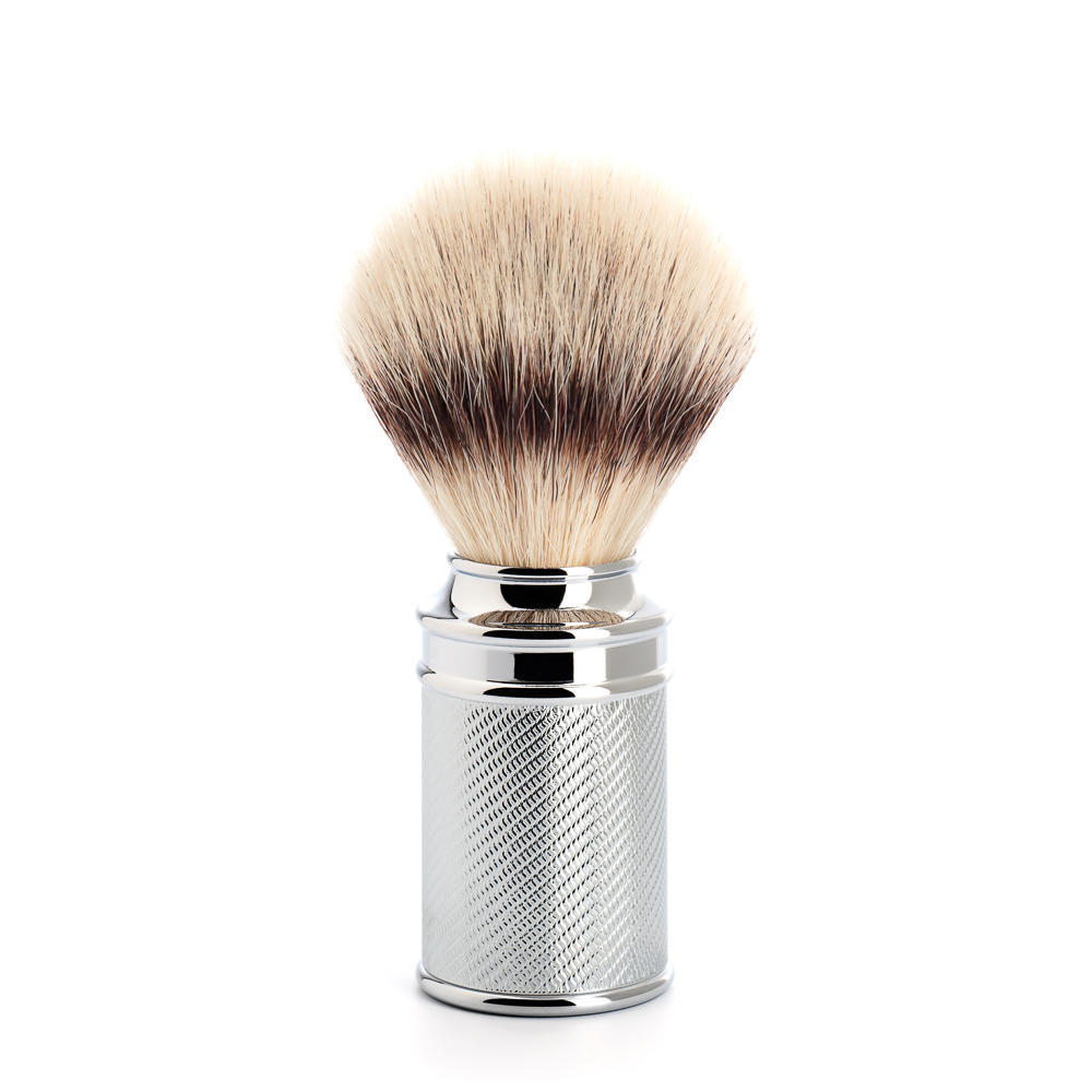 MUHLE TRADITIONAL Chrome Silvertip Fibre Shaving Brush - 31M89