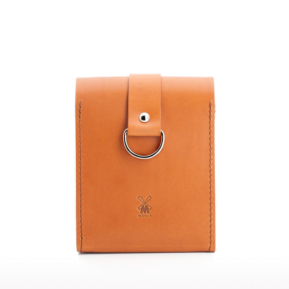 MUHLE Small TRAVEL Vegetable-Tanned Cowhide Leather Bag