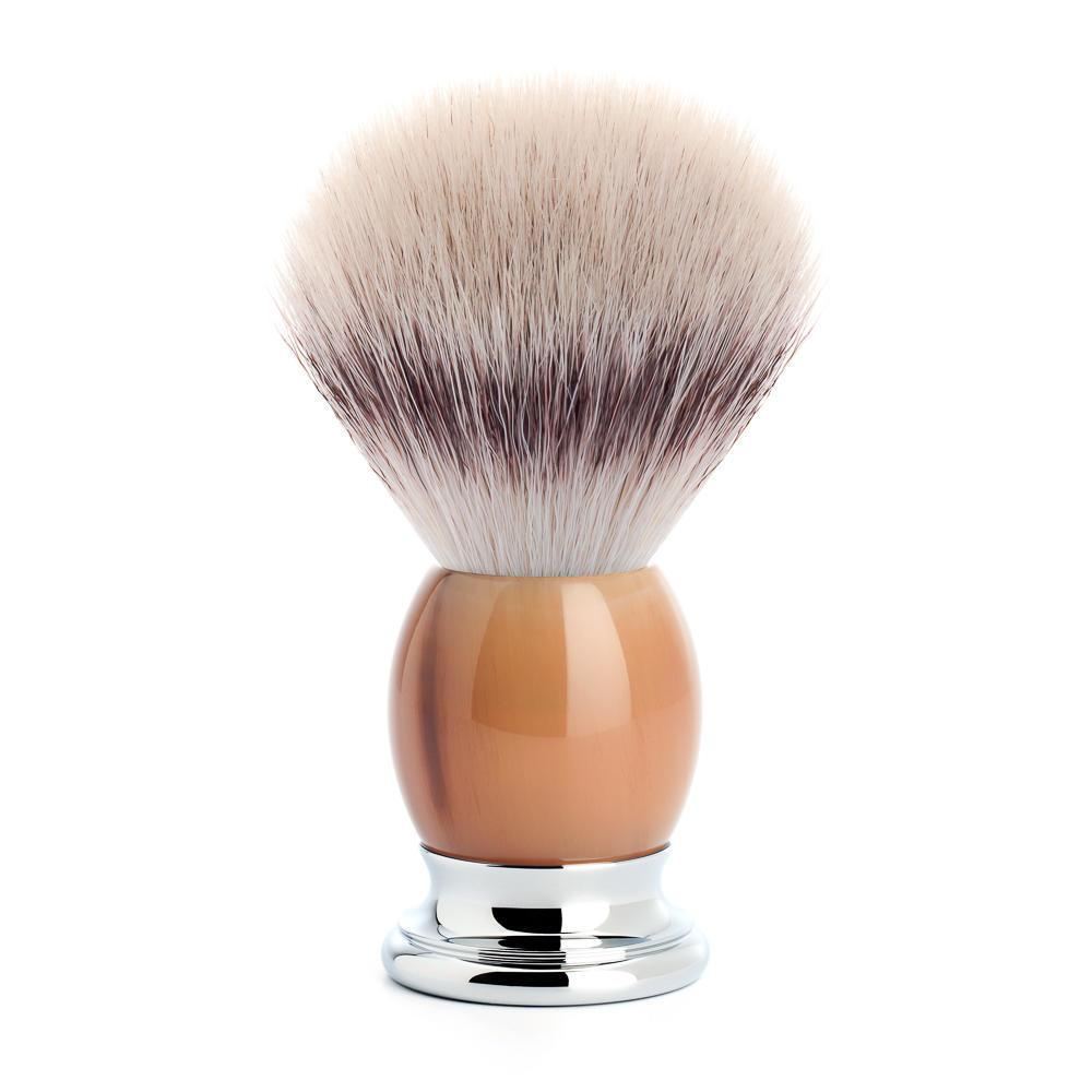 MUHLE SOPHIST Silvertip Fibre Shaving Brush in Horn