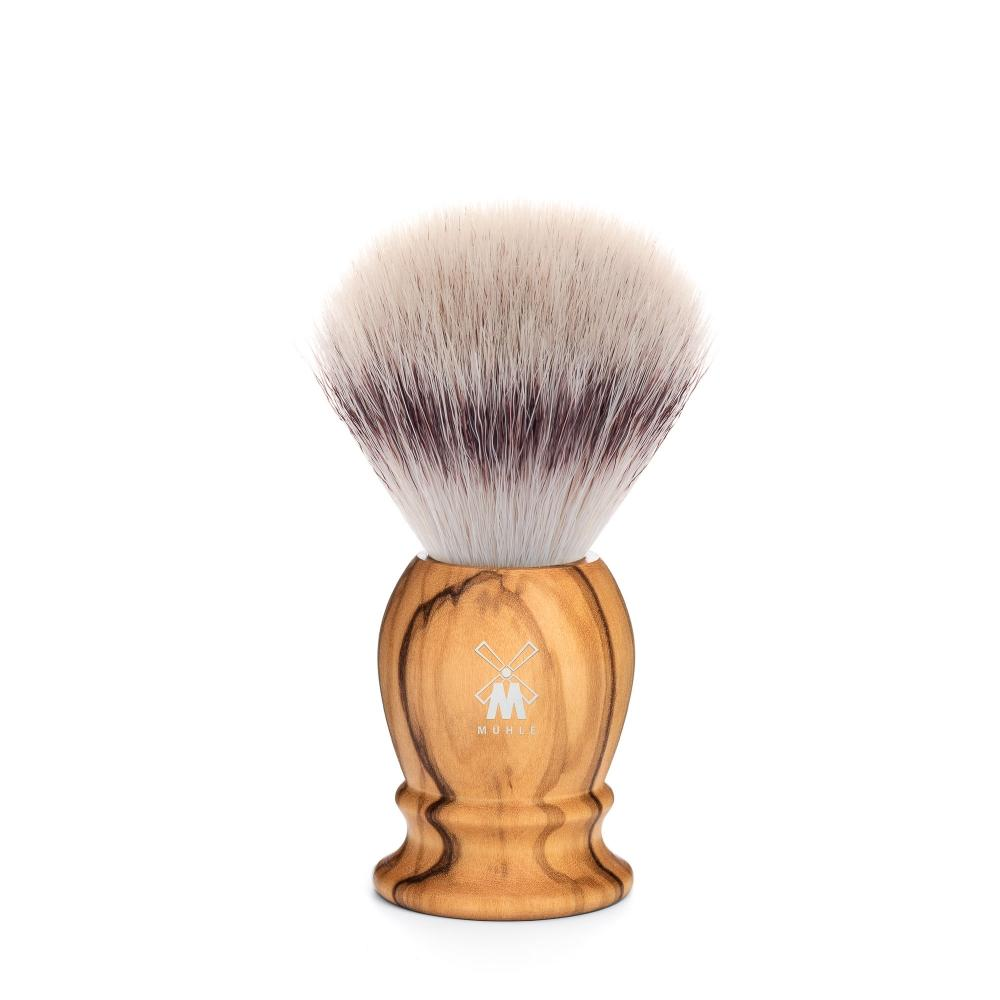 MÜHLE Classic Small Olive Wood Silvertip Fibre Shaving Brush