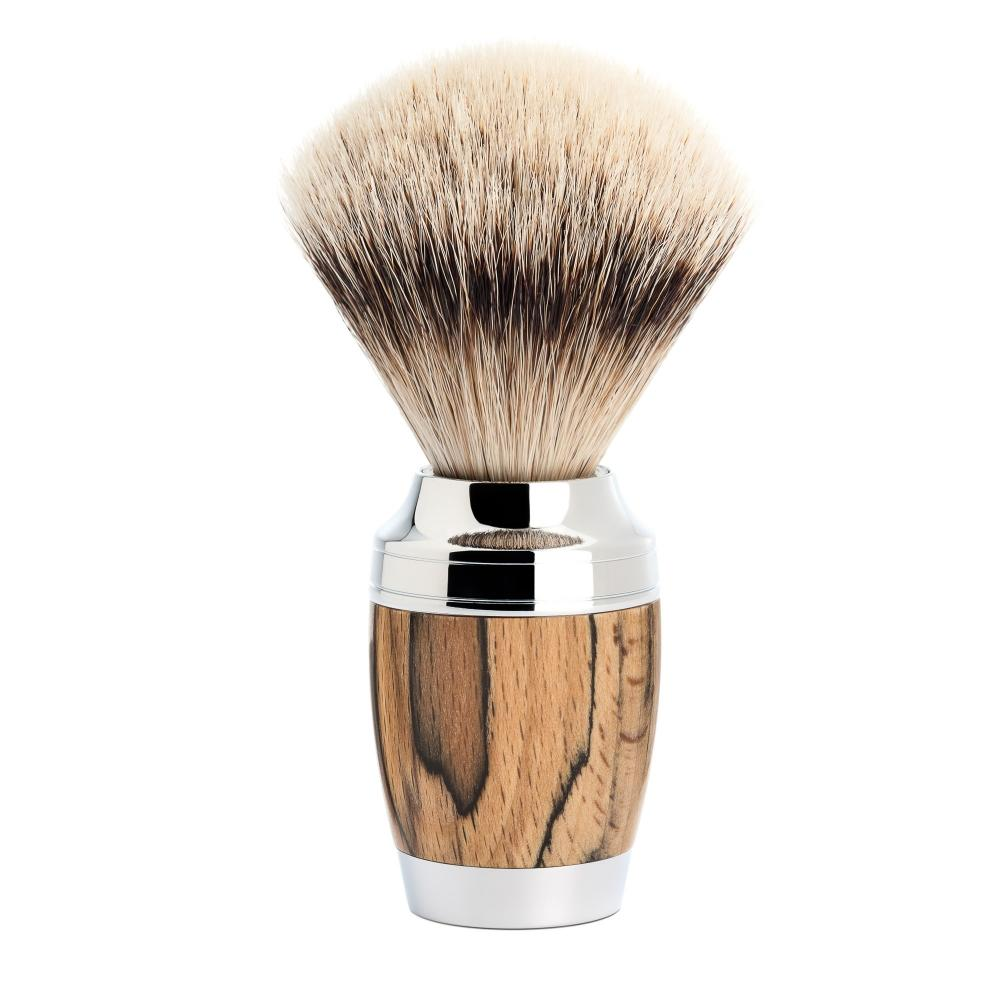 MÜHLE STYLO Spalted Beech Badger Brush