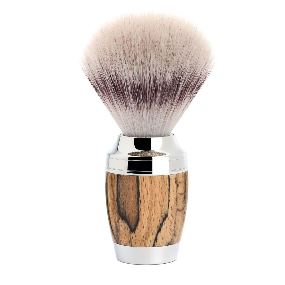 MÜHLE STYLO Spalted Beech Silvertip Fibre (Synthetic) Shaving Brush
