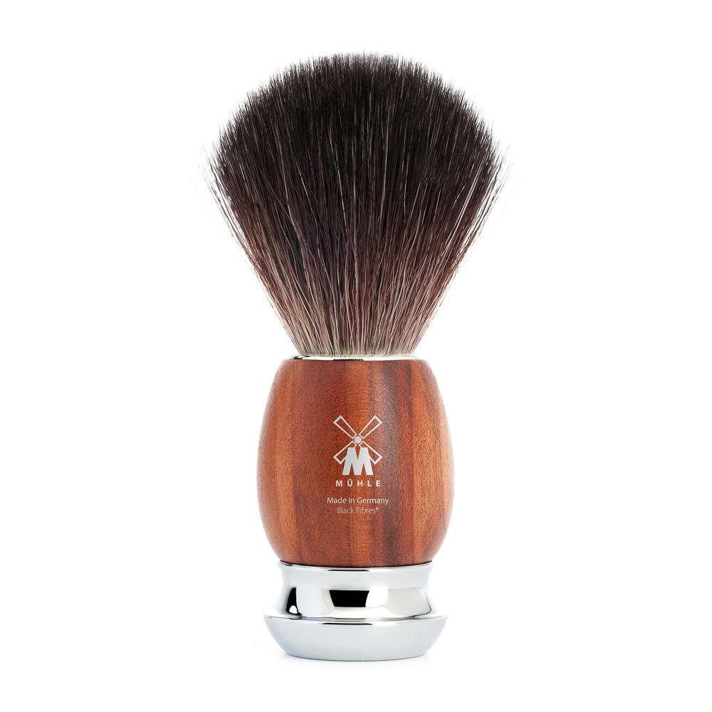 MUHLE VIVO Plumwood Black Fibre Shaving Brush - 21H331