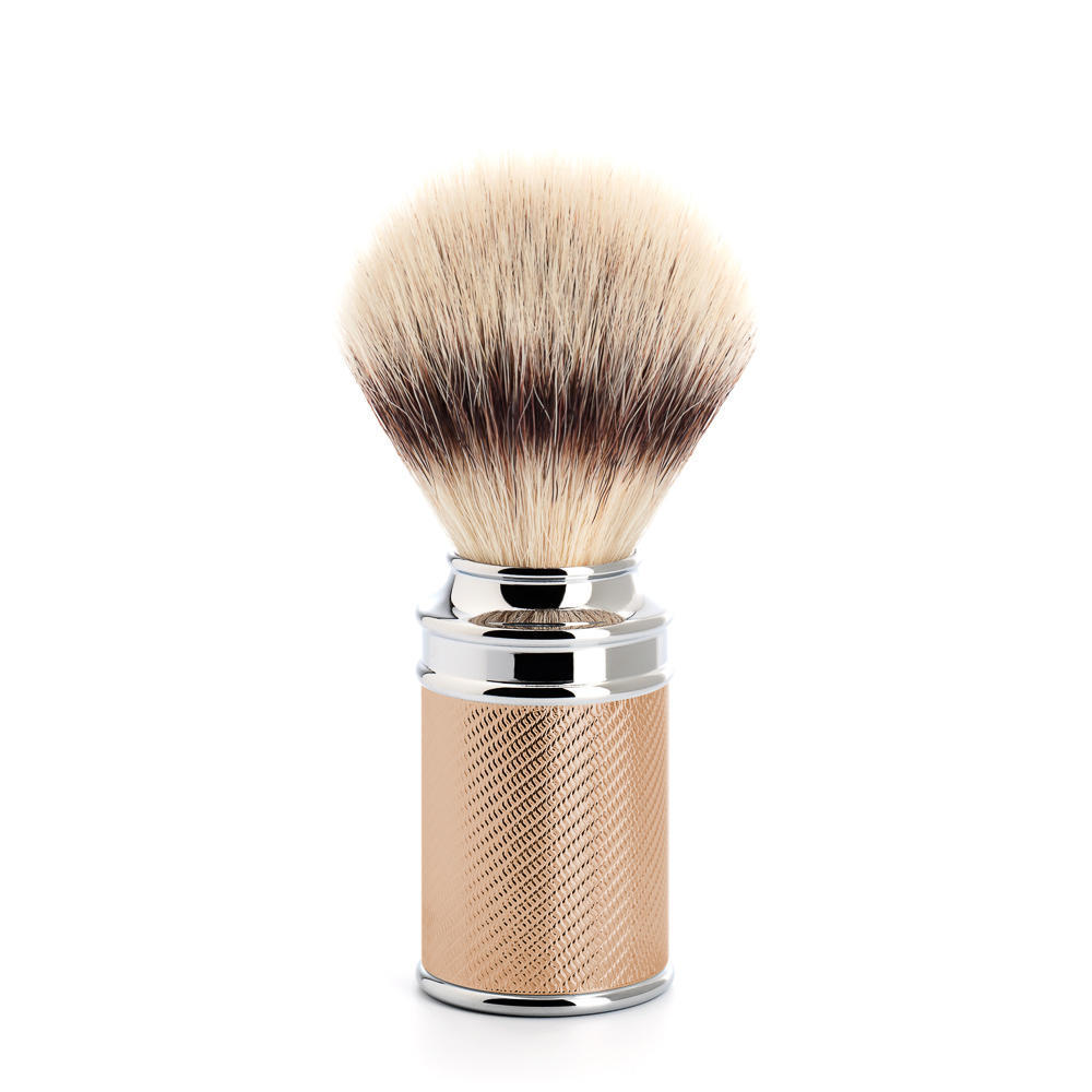 MUHLE TRADITIONAL Rosegold Silvertip Fibre Shaving Brush - 31M89RG