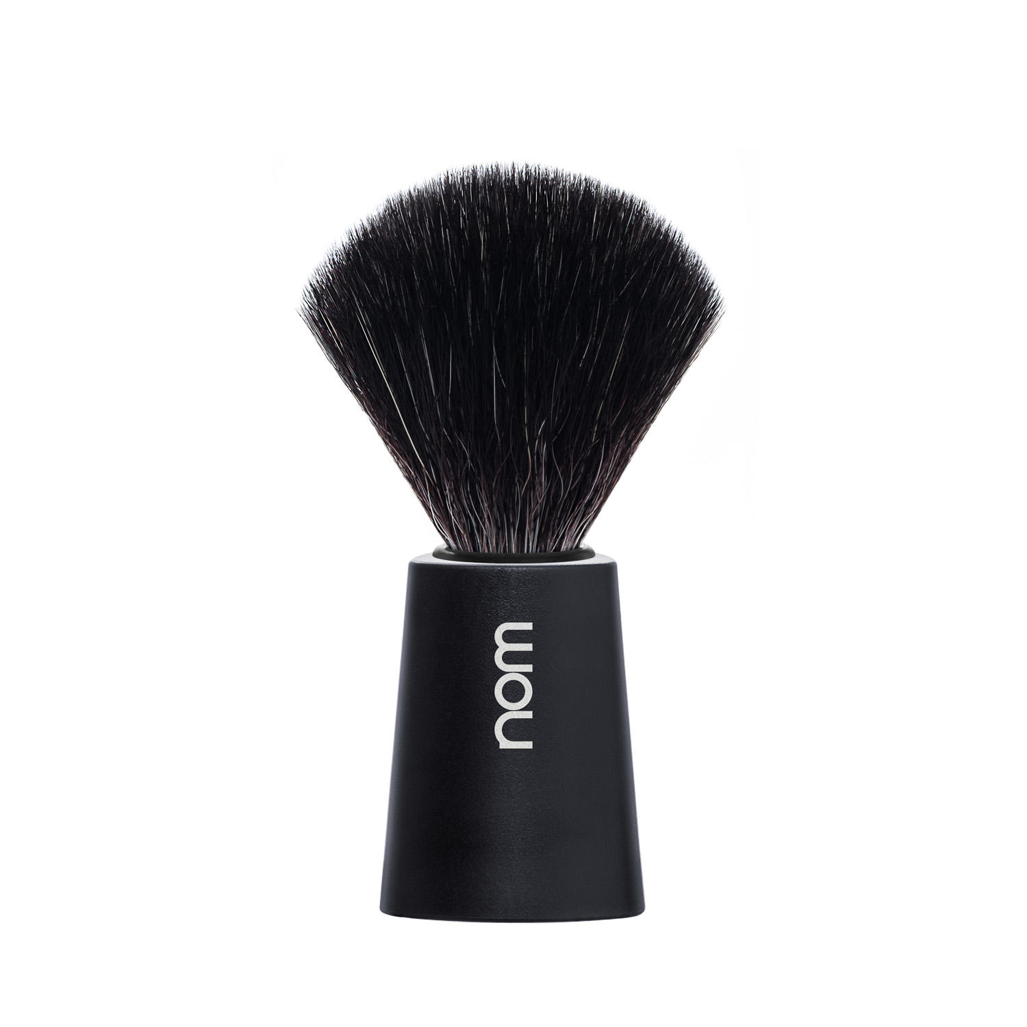 CARL21BL NOM, CARL, Black Handle, Black Fibre, Shaving Brush