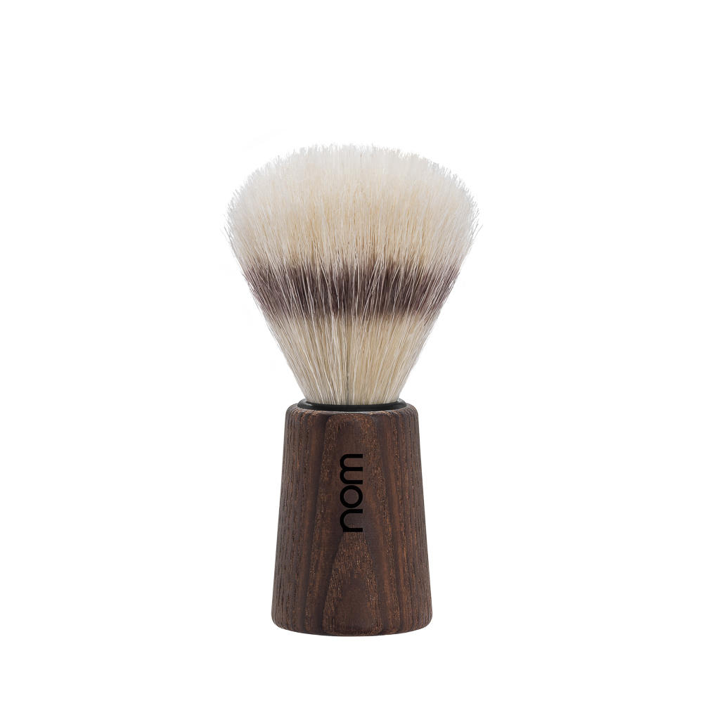 THEO41DA nom THEO, dark ash, pure bristle shaving brush