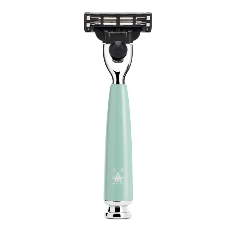 The RYTMO Mint Mach3 Razor by MÜHLE
