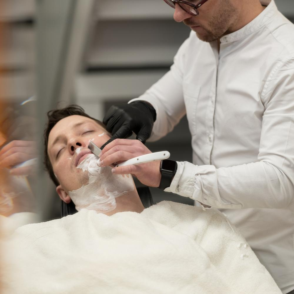 Pictured: The MÜHLE Barbershop