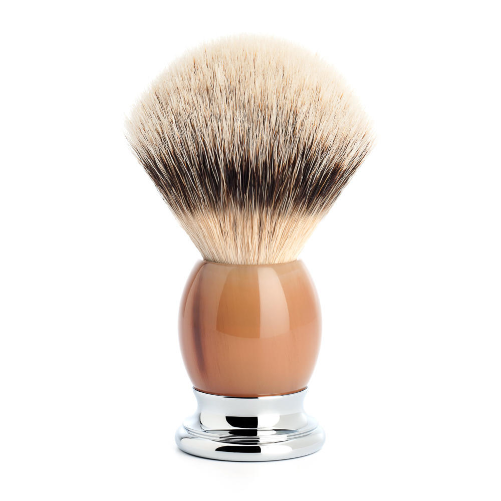 MUHLE SOPHIST Genuine Horn Silvertip Badger Shaving Brush - 93B42