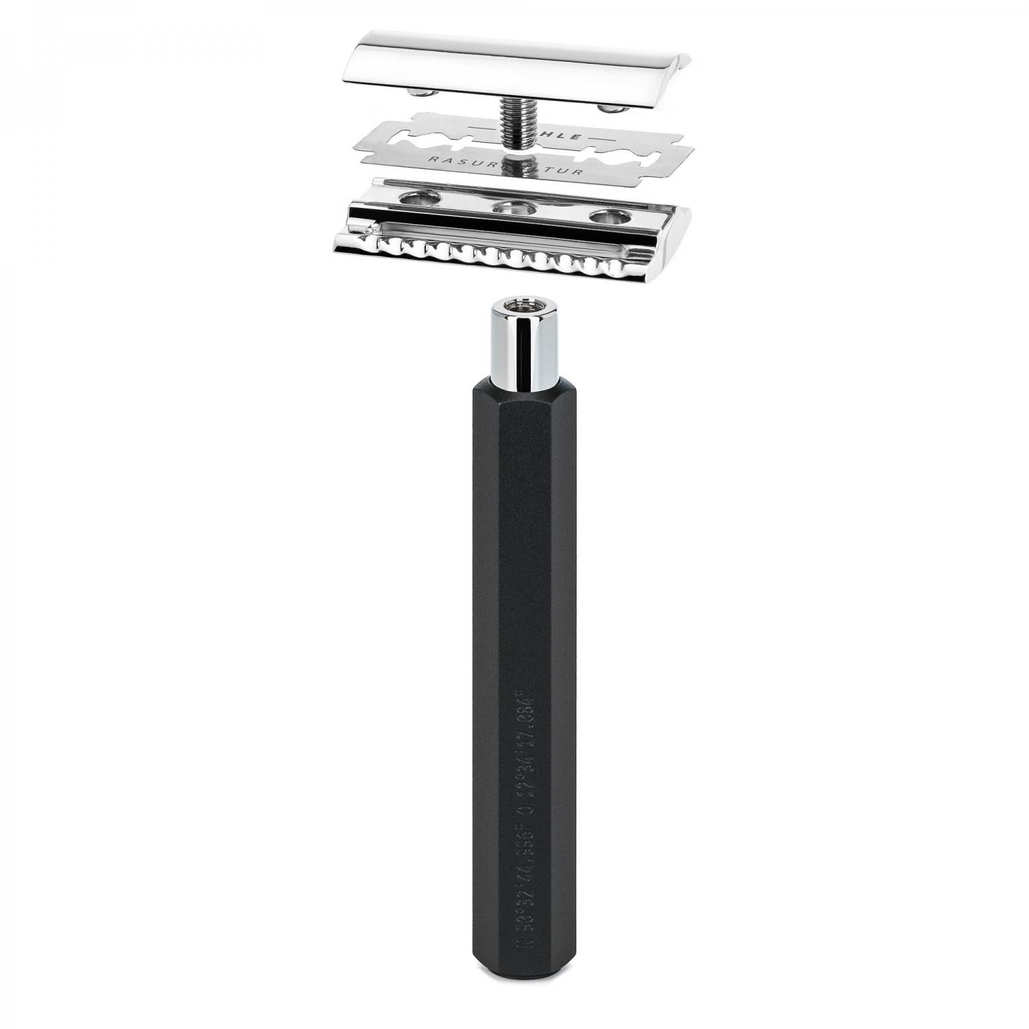 MUHLE HEXAGON Series Graphite Safety razor