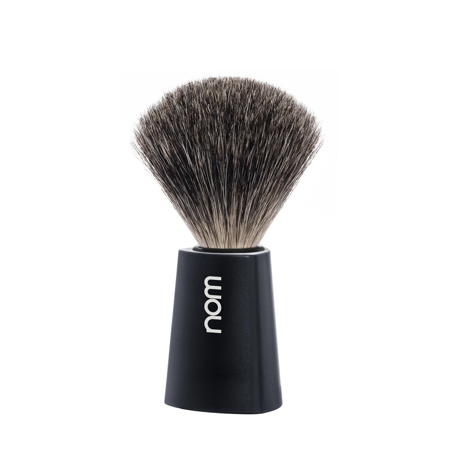 CARL81BL NOM, CARL black, pure badger shaving brush
