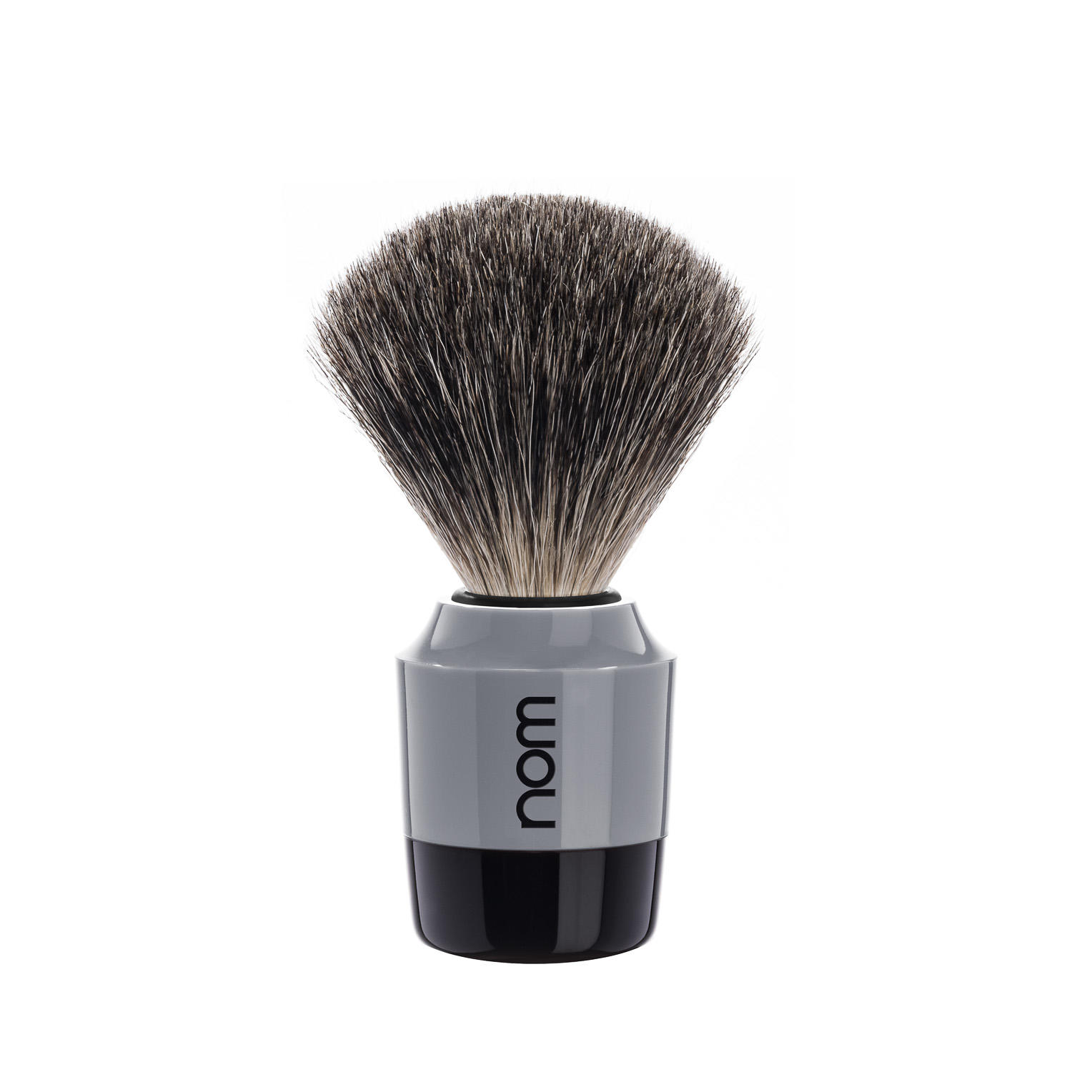 MARTEN81GR NOM, MARTEN in Grey, Pure Badger Shaving Brush