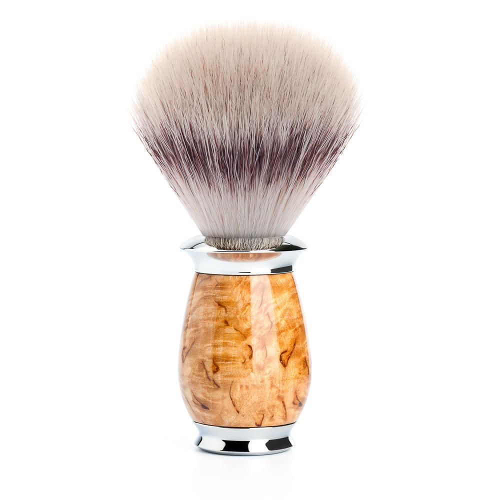 MUHLE PURIST Karelian Masur Birch Silvertip Fibre Shaving Brush