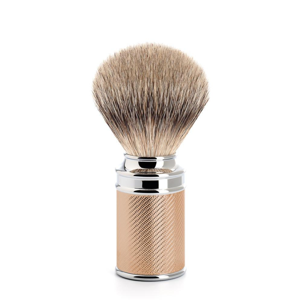 MUHLE Rose Gold Silvertip Badger Brush