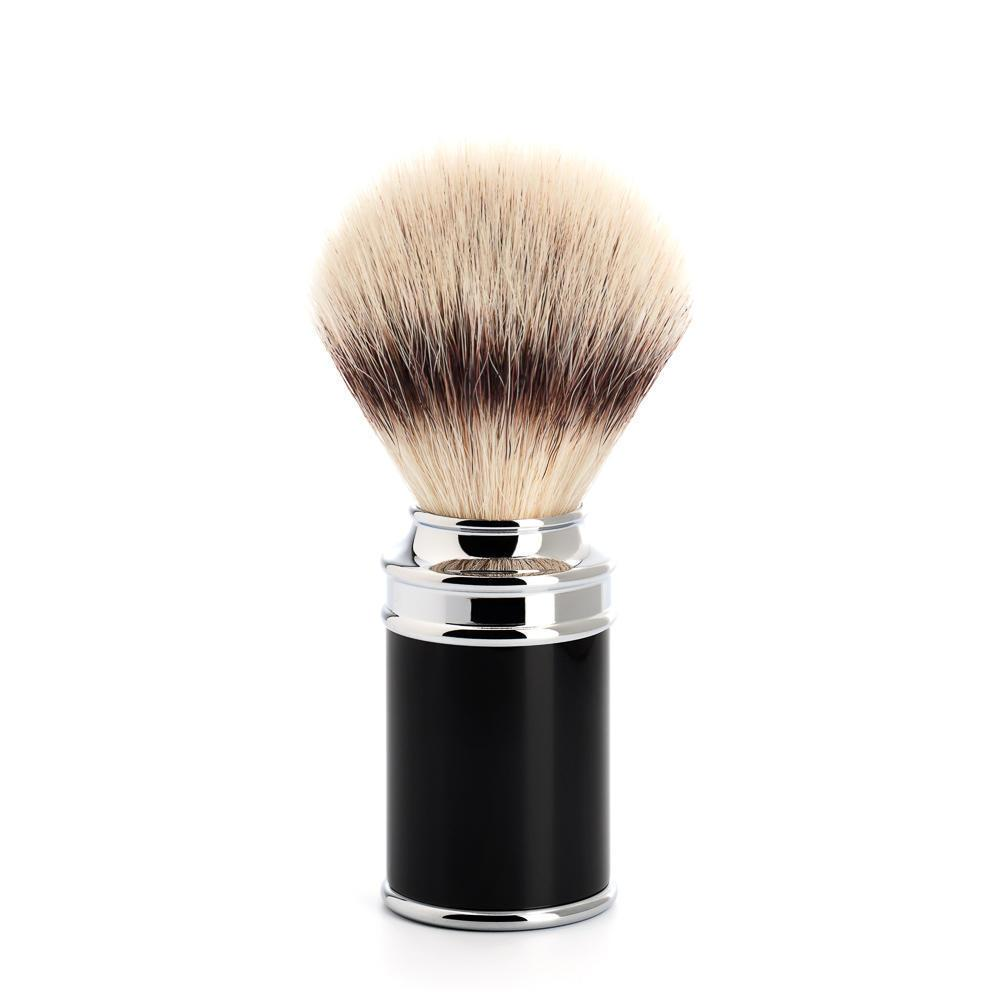 MUHLE TRADITIONAL Black Silvertip Fibre Brush