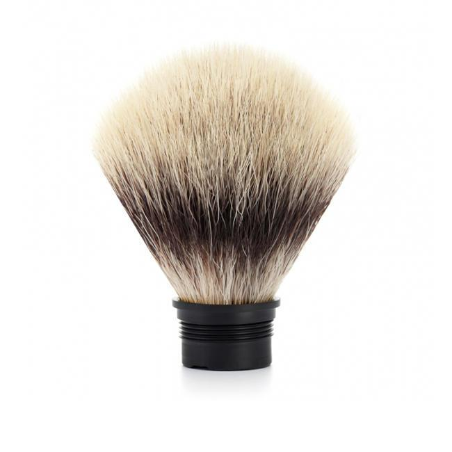 MUHLE Replacement Silvertip Fibre Brush Head for TRADITIONAL, ROCCA & HEXAGON Series - 31M49