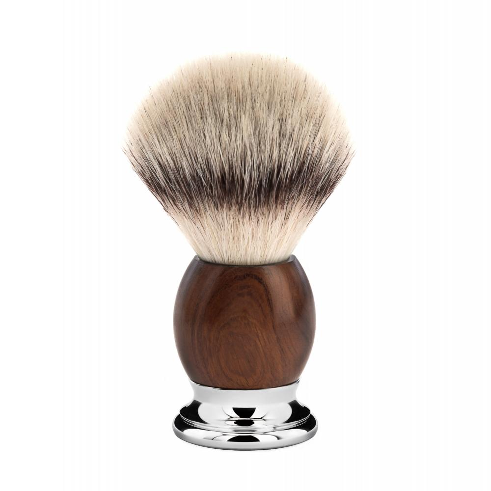 MÜHLE SOPHIST Ironwood Silvertip Fibre Shaving Brush