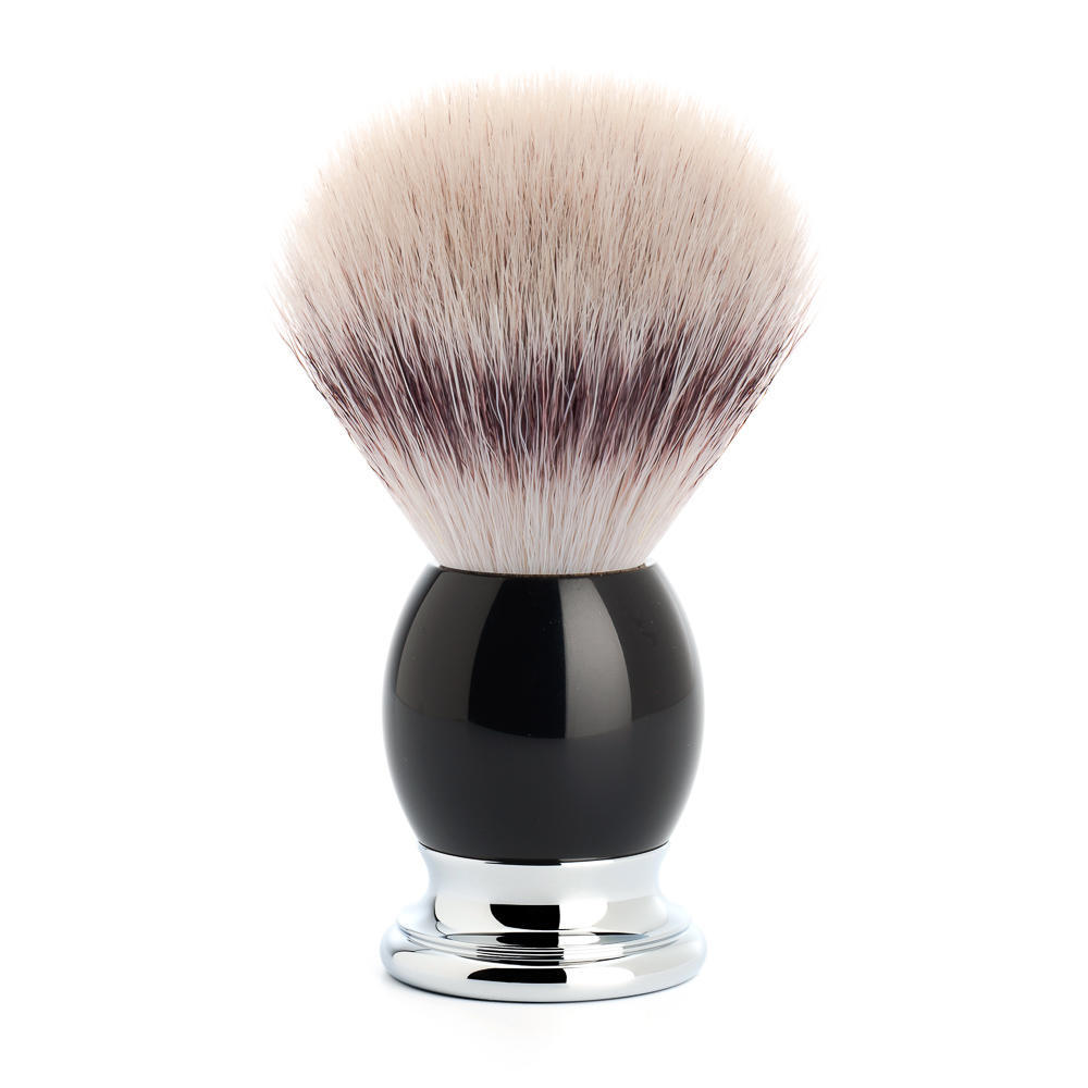 MUHLE SOPHIST Black Silvertip Fibre Shaving Brush - 33K44