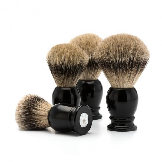 MUHLE Classic Black Silvertip Badger Shaving Brushes