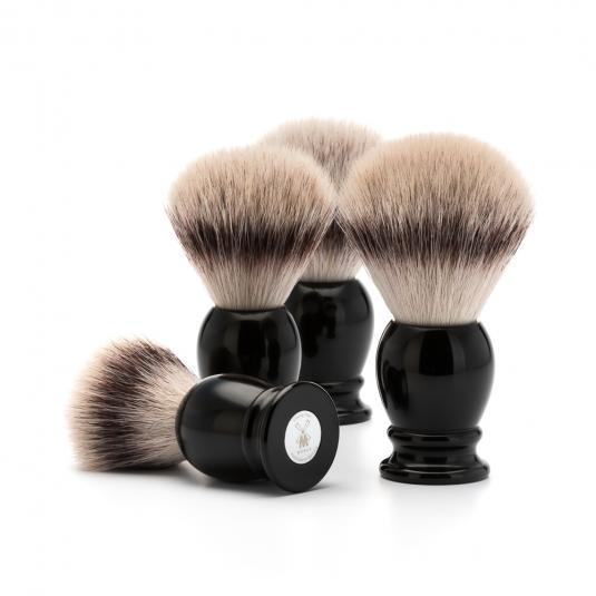 MUHLE Classic Black Silvertip Fibre Shaving Brushes
