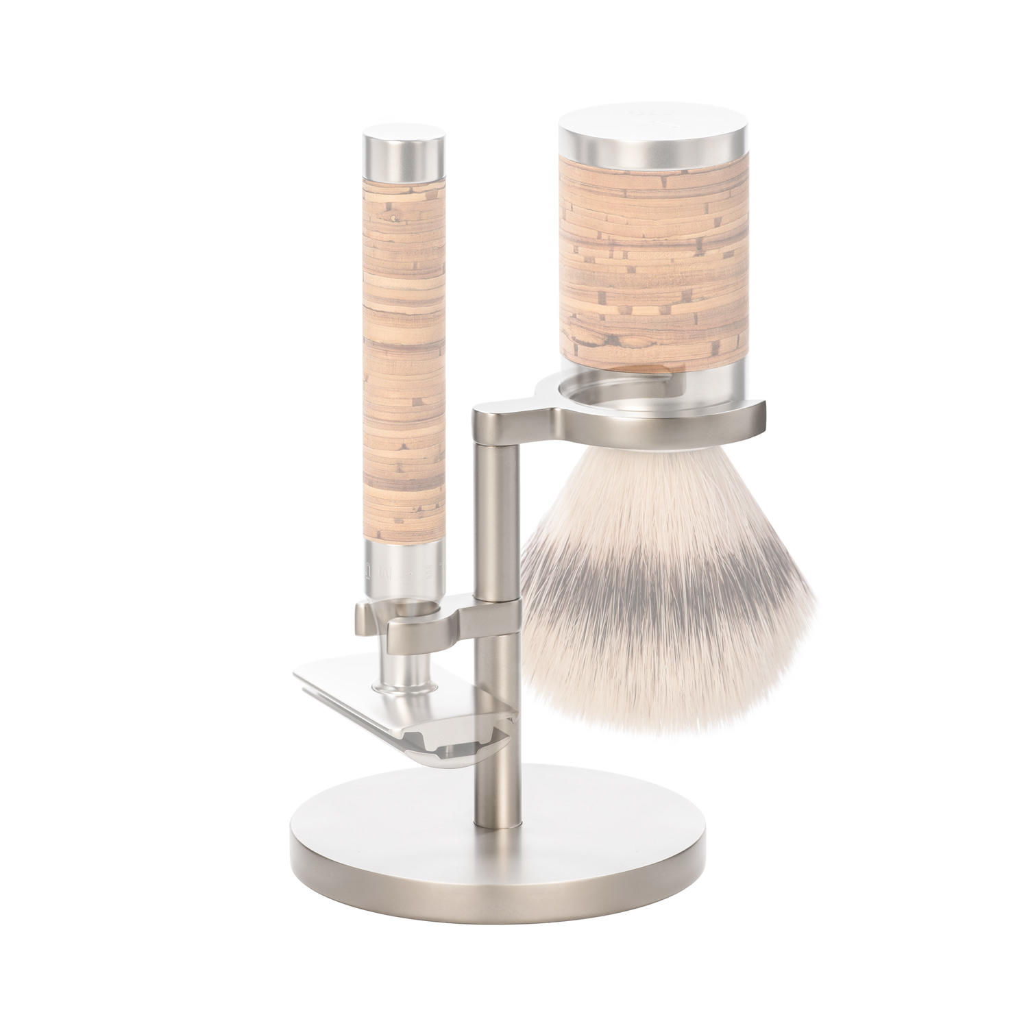 MUHLE ROCCA Matt Stainless Steel Shaving Set Stand for ROCCA Series