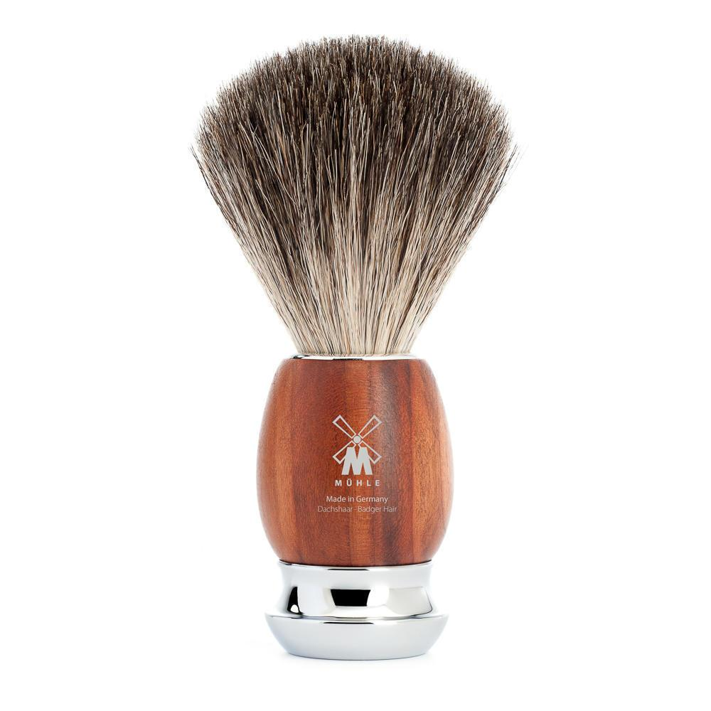 MUHLE VIVO Plumwood Pure Badger Shaving Brush