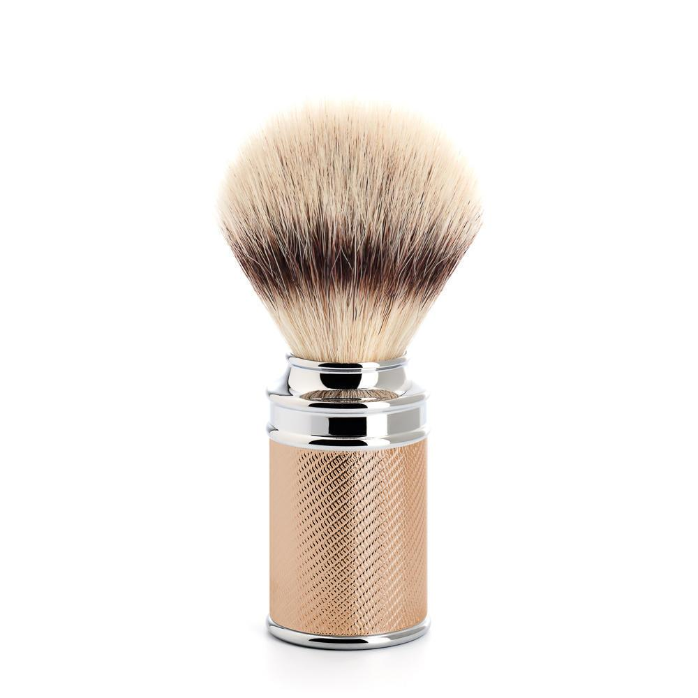 MUHLE TRADITIONAL Rosegold Silvertip Fibre Brush