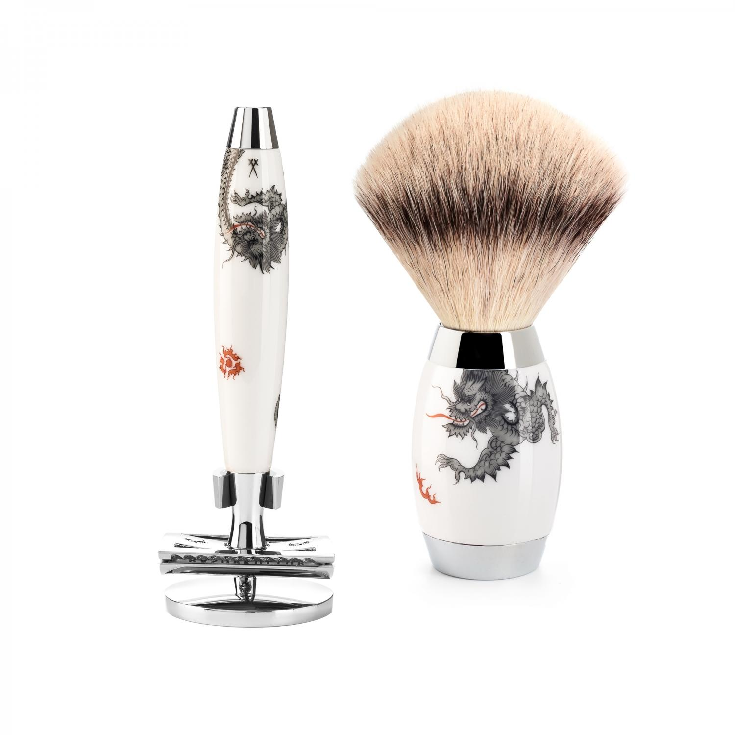 Meissen Porcelain Shaving Set from MUHLE