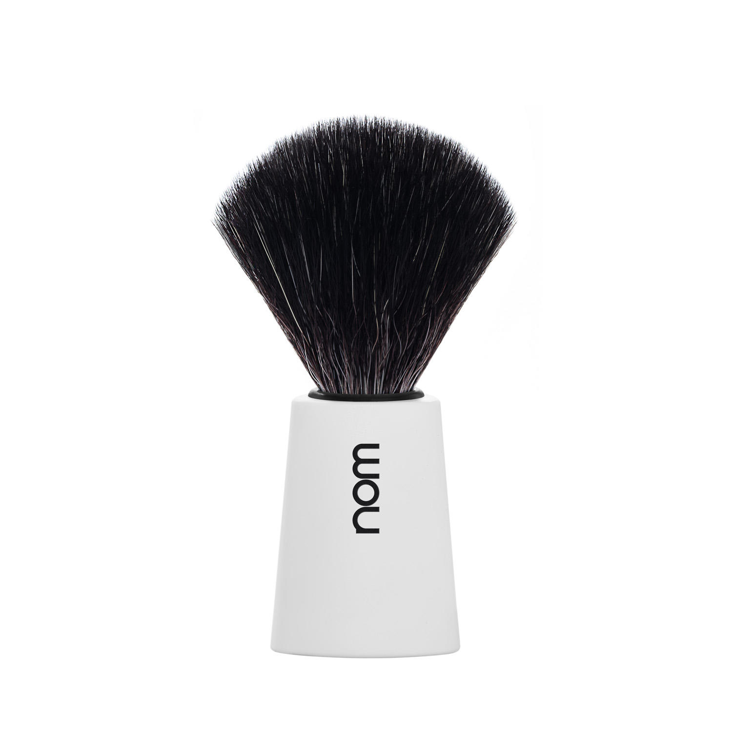 CARL21WH NOM, CARL White, Black Fibre Shaving Brush