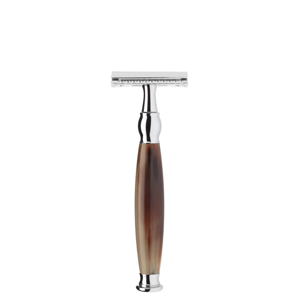 MUHLE SOPHIST Safety Razor in Horn