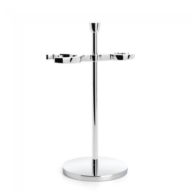 LISCIO Chrome Shaving Set Stand