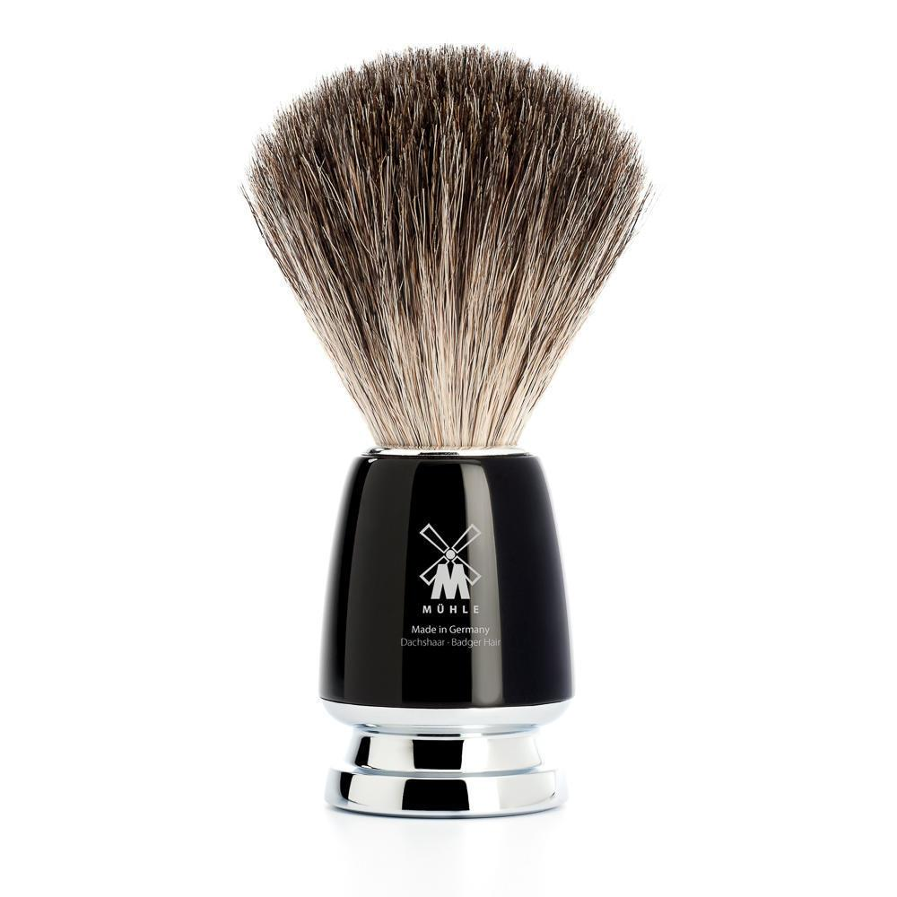 MUHLE RYTMO Black Pure Badger Shaving Brush
