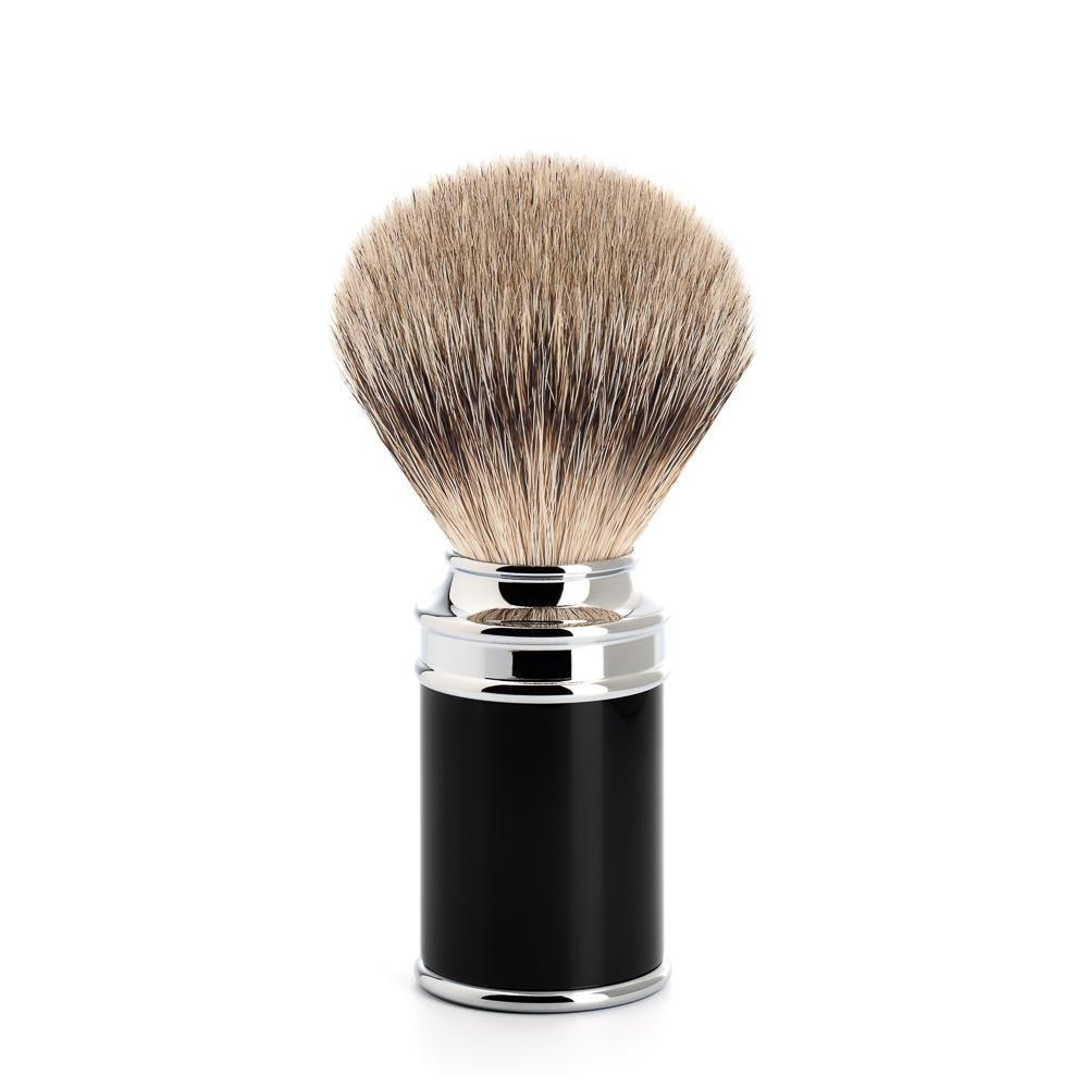 MUHLE Black Silvertip Badger Brush