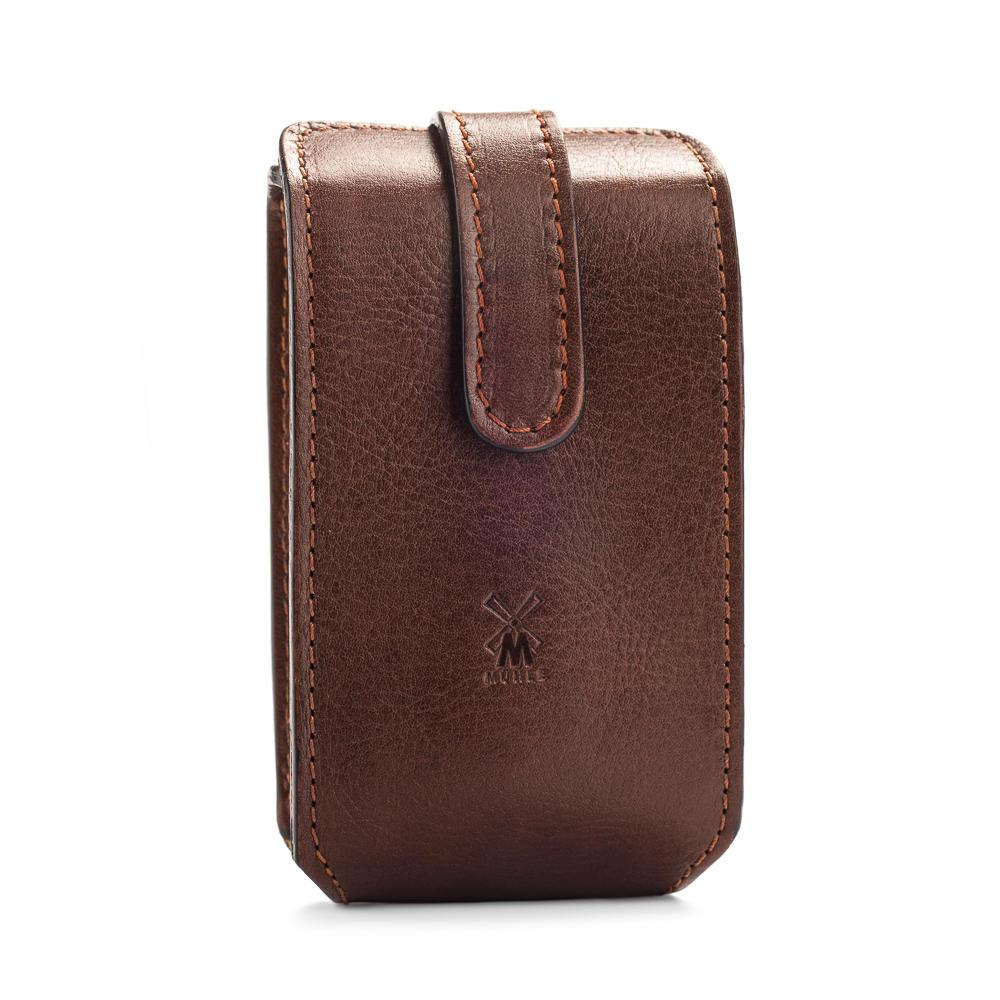 MUHLE TRAVEL Case Brown Leather