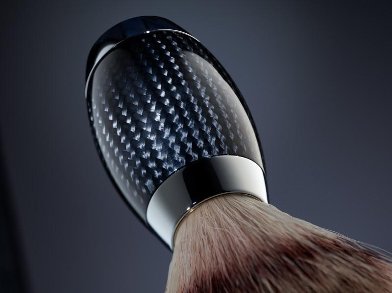 MÜHLE EDITION Carbon Shaving Brush