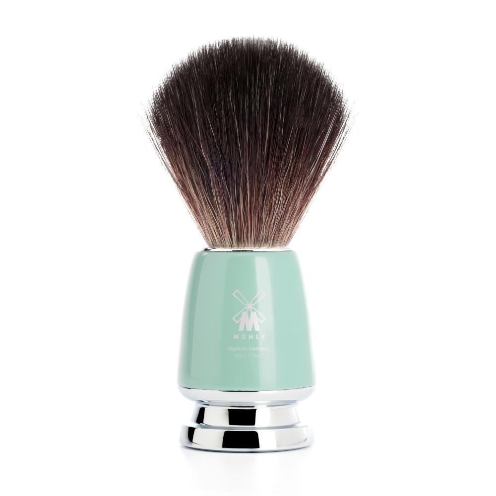 Pictured: The RYTMO Black Fibre Shaving Brush by MÜHLE