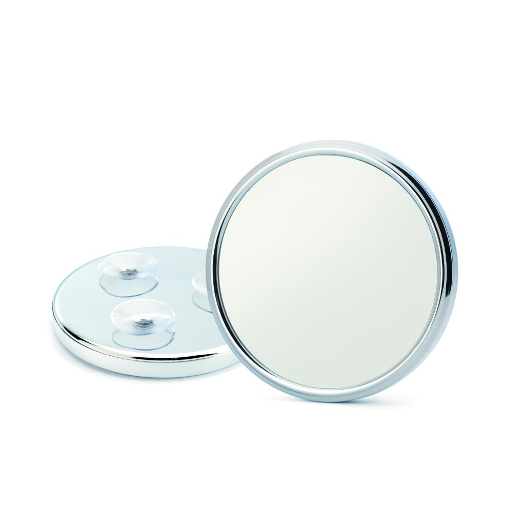The SP2 5x magnification shaving mirror with suction cups by MÜHLE