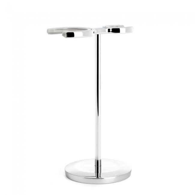 MUHLE Chrome Shaving Brush & Razor Stand - RHM22