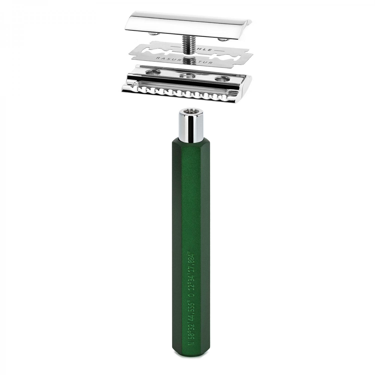 MUHLE HEXAGON Series Forest Safety razor