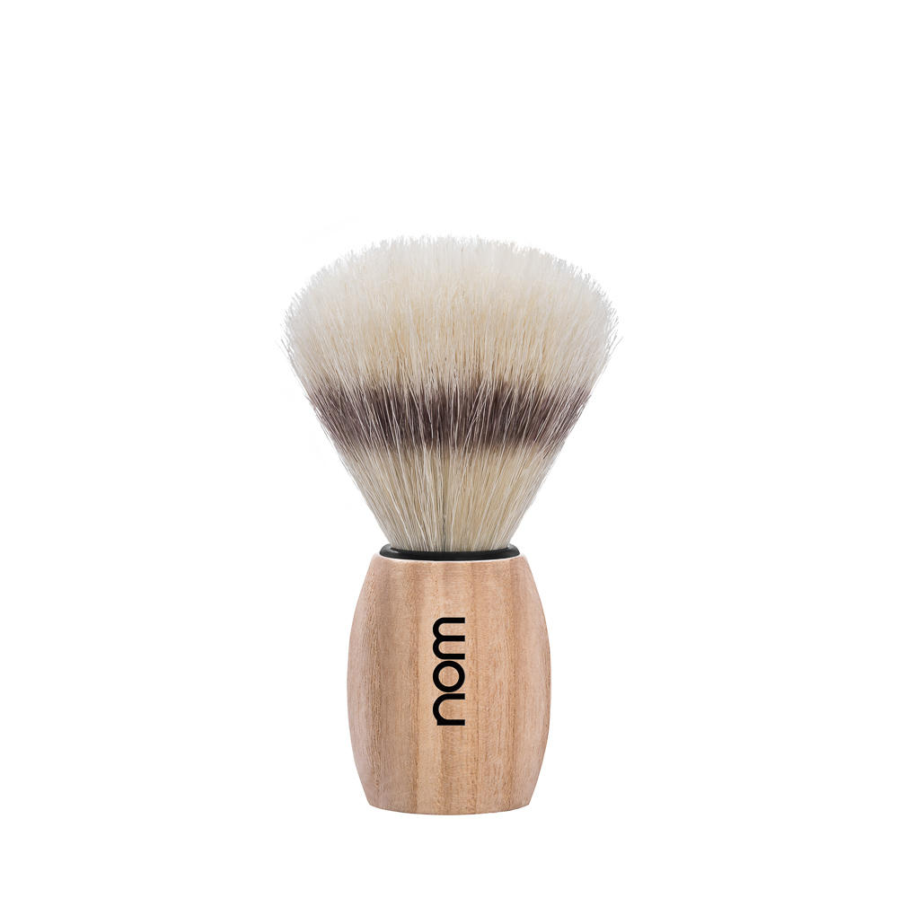 OLE41PA nom OLE, Pure Ash, Pure Bristle Shaving Brush