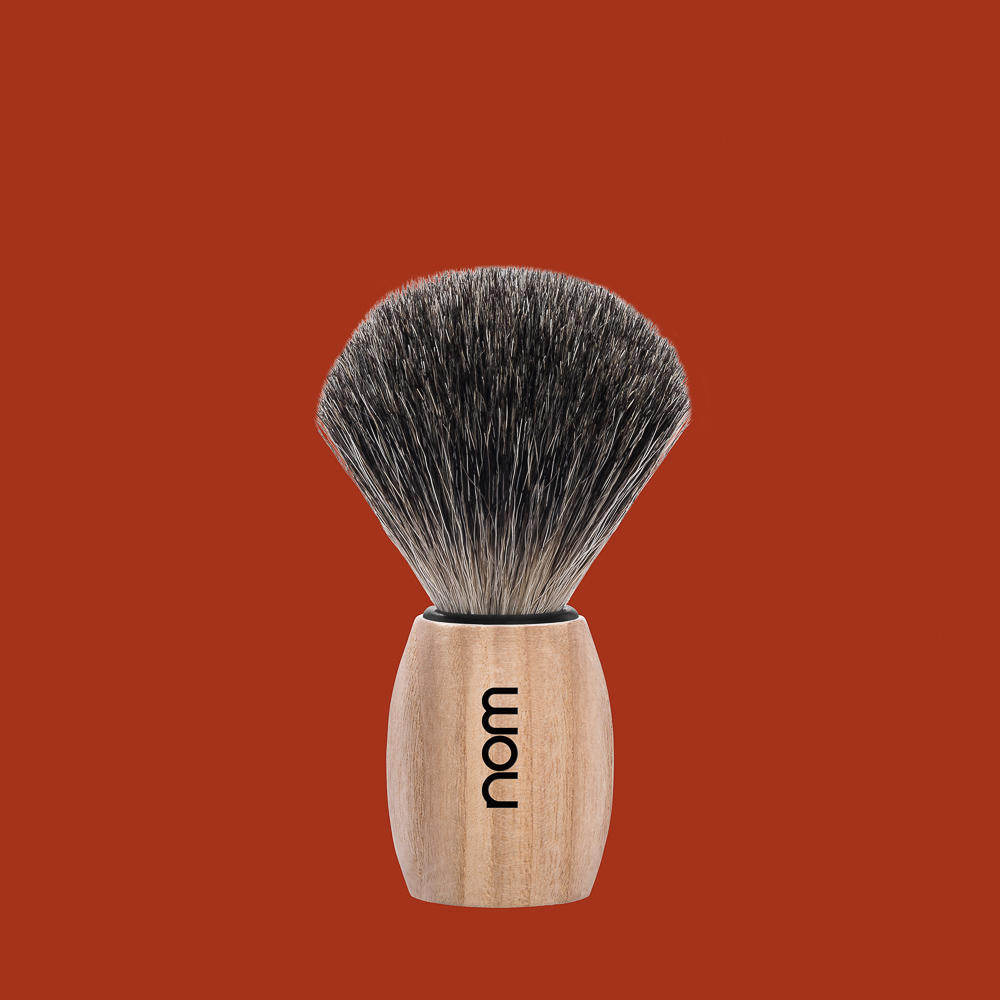 OLE81PA nom OLE, pure ash, pure badger shaving brush