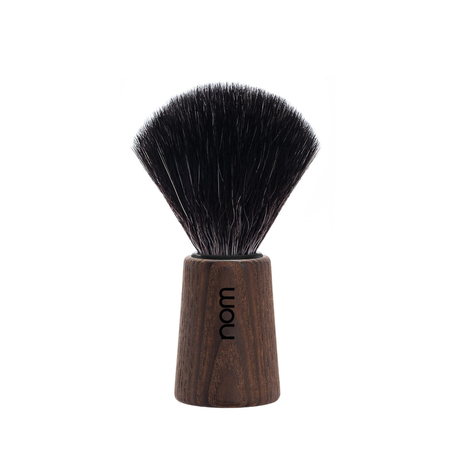 THEO21DA nom THEO, Dark Ash, Black Fibre, Shaving Brush
