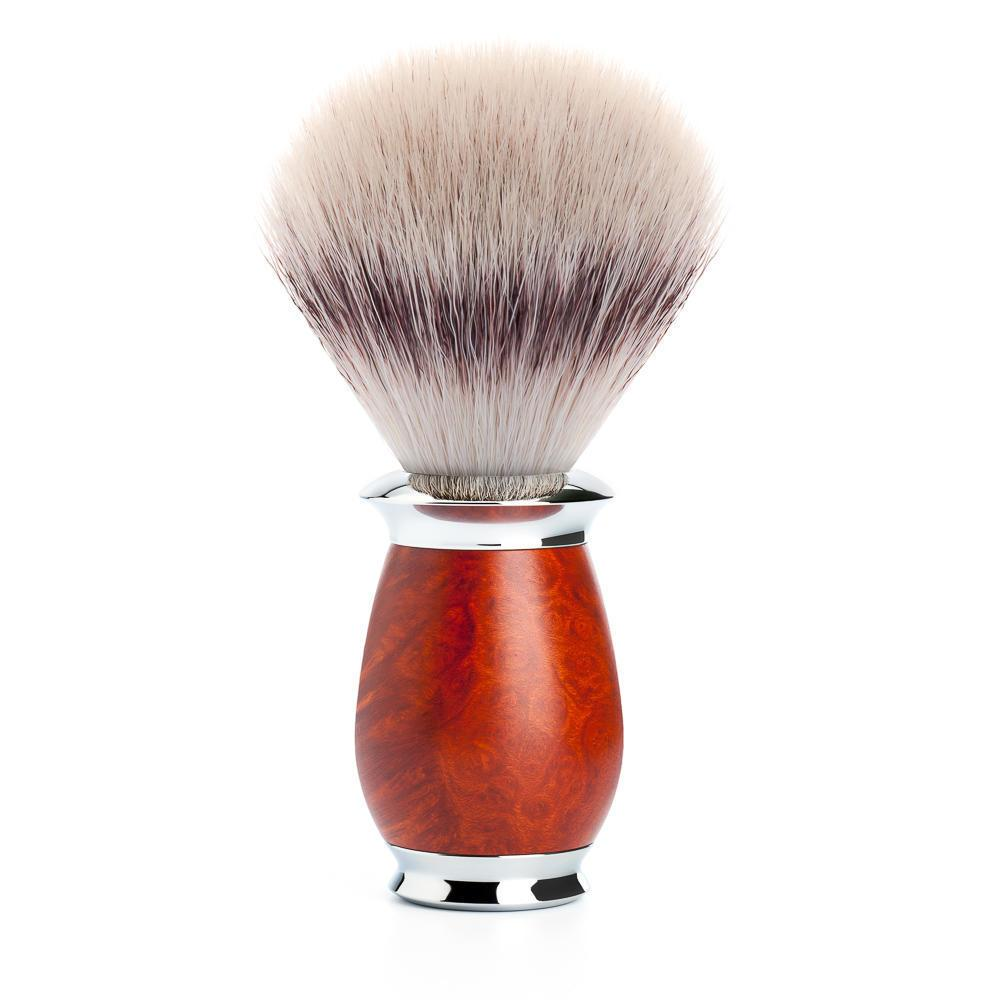 MUHLE PURIST Silvertip Fibre Shaving Brush in Briar Wood