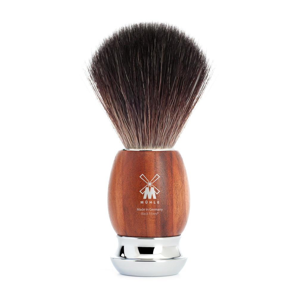 MUHLE VIVO Plumwood Black Fibre Shaving Brush