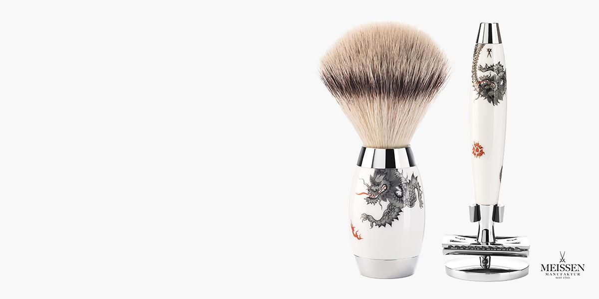 <h1>MÜHLE shaving culture made in Germany</h1><p>It is the exquisite accessory such as the silvertip badger shaving brush or traditional safety razor that the brand from the Erz Mountains stands for. Today, the renowned premium brand is synonymous with rare craftsmanship and consummate design.</p>  <p>Our exclusive overall product range embraces brushes, razors, straight razors, care products such as shaving soaps and creams, as well as an innovative natural cosmetic series. Each of our lovingly manufactured products is made from the very best materials and raw materials, produced in harmony with nature. For the future of the cultivated wet shave. Since 1945!</p>