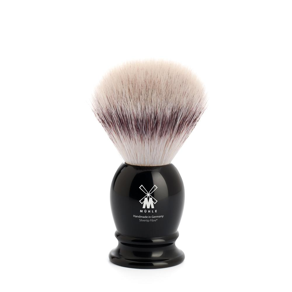 MUHLE Classic Small Black Silvertip Fibre Shaving Brush - 39K256