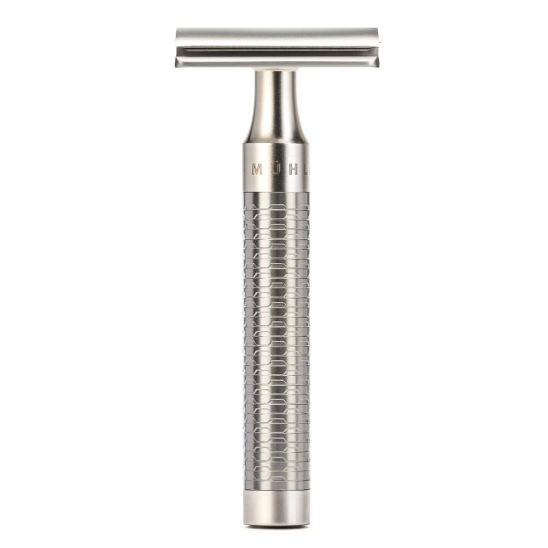 The ROCCA Stainless Steel Safety Razor by MÜHLE (R94)