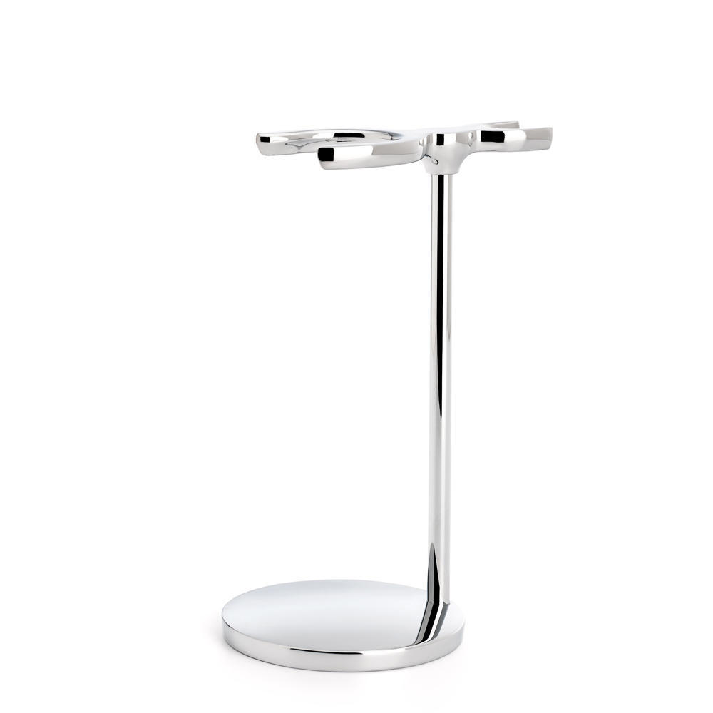 MUHLE Chrome Shaving Brush and Razor Stand - RHM9