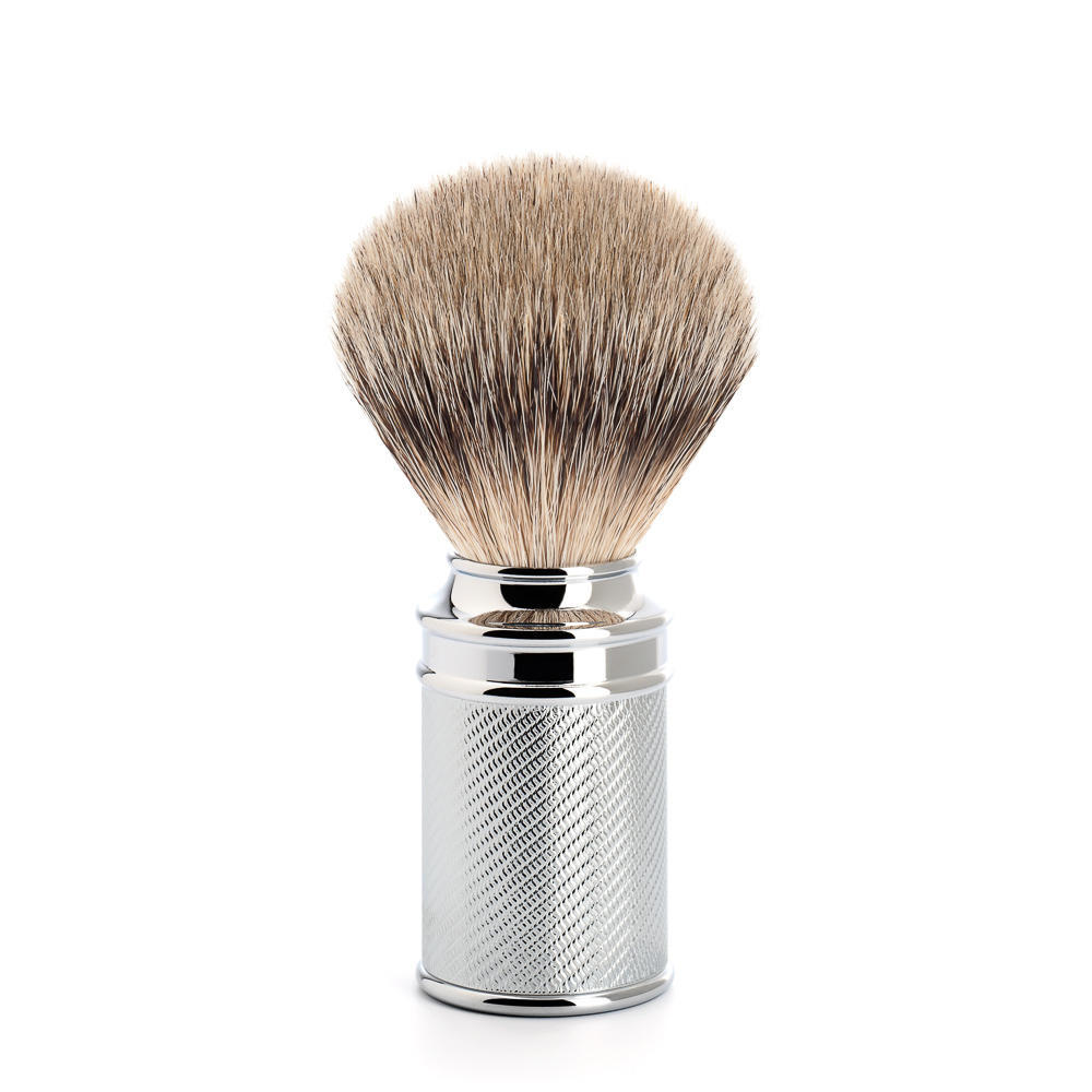 MUHLE TRADITIONAL Chrome Silvertip Badger Shaving Brush - 091M89